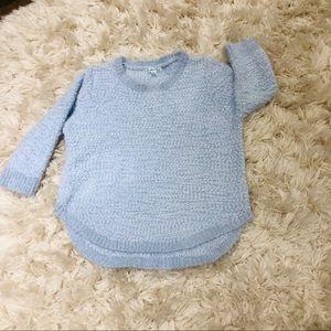 JohnPaulRichard | ultra soft blue sweater